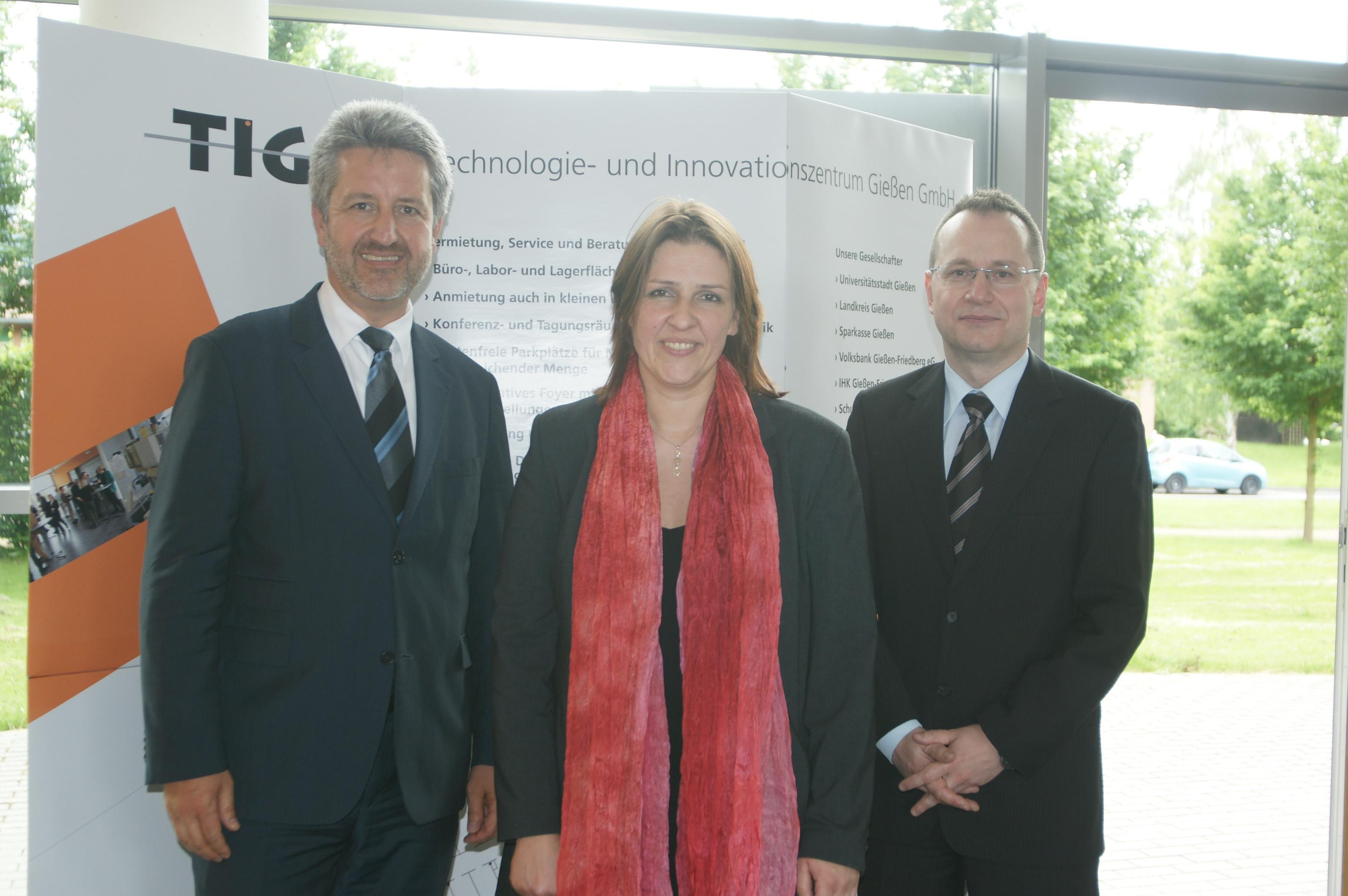 Neuer Kapitän des Technologie und Innovationszentrums Gießen TIG ist Antje Bienert