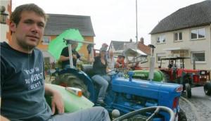 Im mittelhessischen Ruppertsburg stehen alle in den Startlöchern für das 2. ADAC-Traktorentreffen
