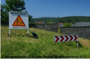 Straßengolf — Streetgolf — die mittelhessische, die hessische, die deutsche Variante?