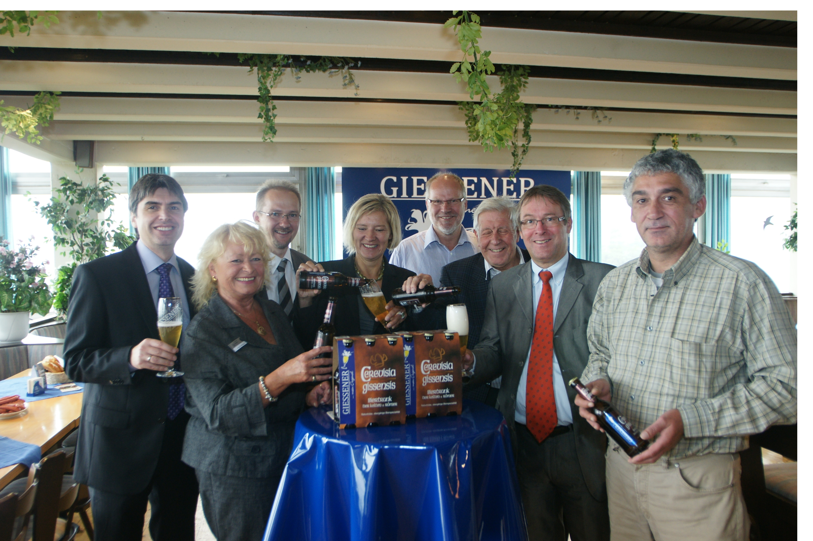 Wirtschaftsförderer Kelten: Altes Kulturvolk steht in Mittelhessen Pate für ein neues Bier
