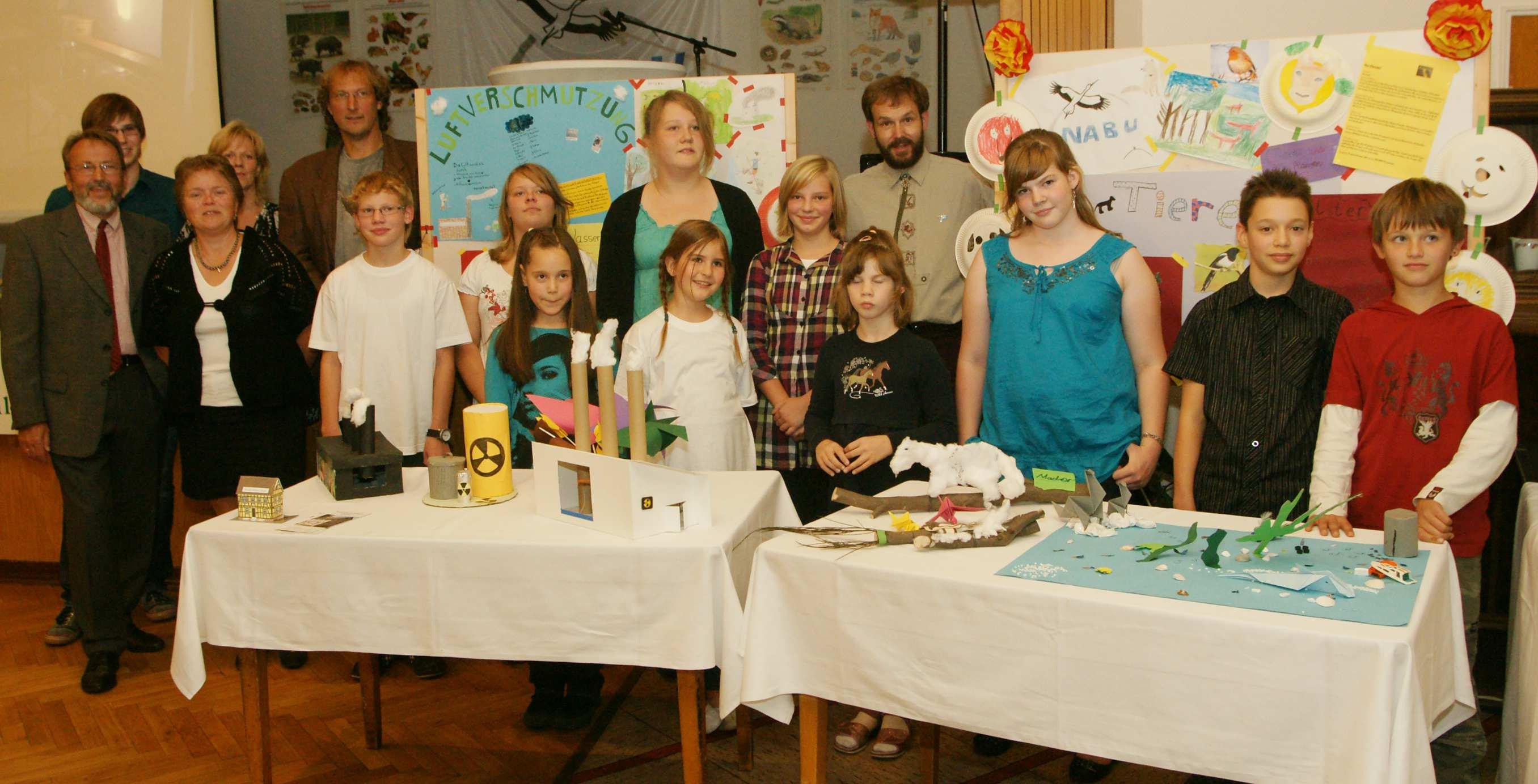 Eine starke Jugendgruppe steht für guten Nachwuchs beim Nabu Fellingshausen