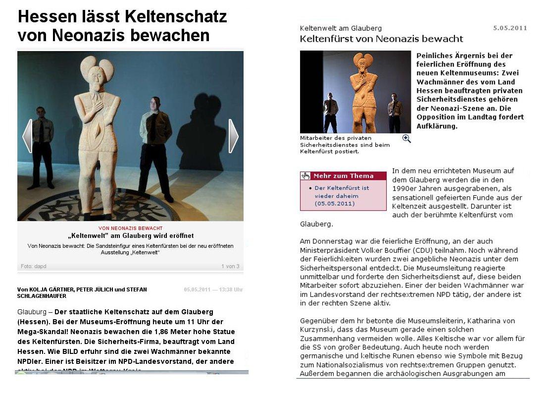 Glauberg-Berichterstattung: Urheber der NPD-Wachmann-Affäre meldet sich bei Mittelhessenblog