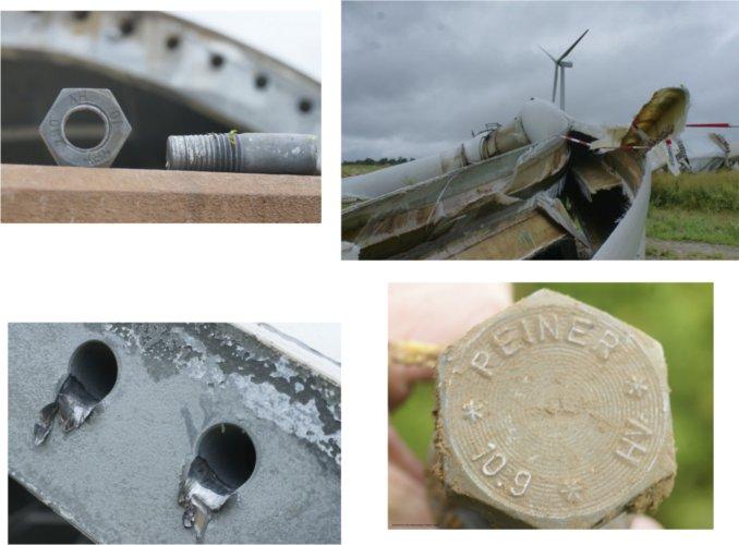 Schrauben sind zentrale Elemente bei Windrädern