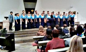 Vielfach preisgekrönter Chor sorgte in der St. Anna Kirche zu Braunfels für Standing Ovations