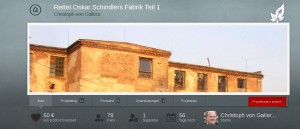 Oskar-Schindler-Recherche: Crowdfunding-Aktion des Mittelhessenblog bringt 85 Euro am erstenTag
