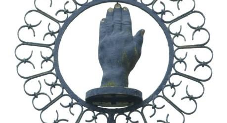 Eiserne Hand bei Erda Foto: v. Gallera