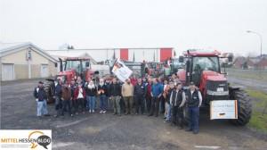 Das letzte Aufgebot? Protestierende Milchbauern machen in Mittelhessen auf Marsch gen Brüssel Station