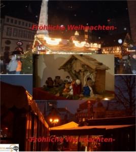 Fröhliche Weihnachten und Zeit zum Durchatmen aus und für Mittelhessen