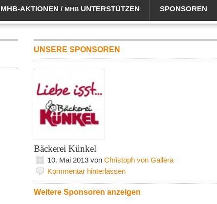 Für Sponsoren gibt es im Mittelhessenblog eine eigene Seite.
