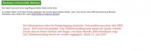 Werkstattbericht: Mittelhessenblog macht mittelhessischen Uni-Kanzlerbericht zum zweiten Mal zugänglich.