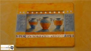Platon, Sokrates, Aristoteles und Fußballwitze im Döner-Restaurant in Mittelhessen