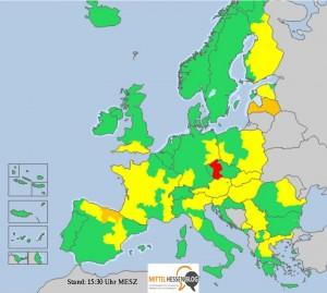 Keine Entwarnung für Sachsen: Helfer aus Mittelhessen bleiben