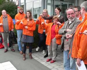 """Streik für Haustarif: Redakteure der Oberhessischen Presse lassen """"Griffel fallen"""""""