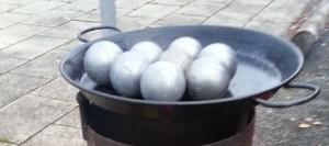 Die Fußball-WM-Alternative aus Mittelhessen: Der Ball ist rund, passt in jede Hand und wiegt um die 700Gramm