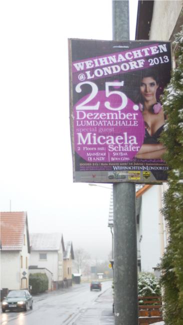 Mit Micaela Schäfer kommt eine Showgröße auf eine Weihnachtsdisko nach Mittelhessen, der Weihnachten eigentlich egal ist. Foto: v. Gallera