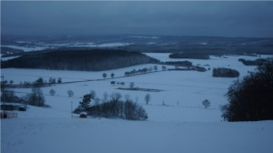 Sturm Xaver brachte Schnee und schulfreien Nikolaustag nach Mittelhessen