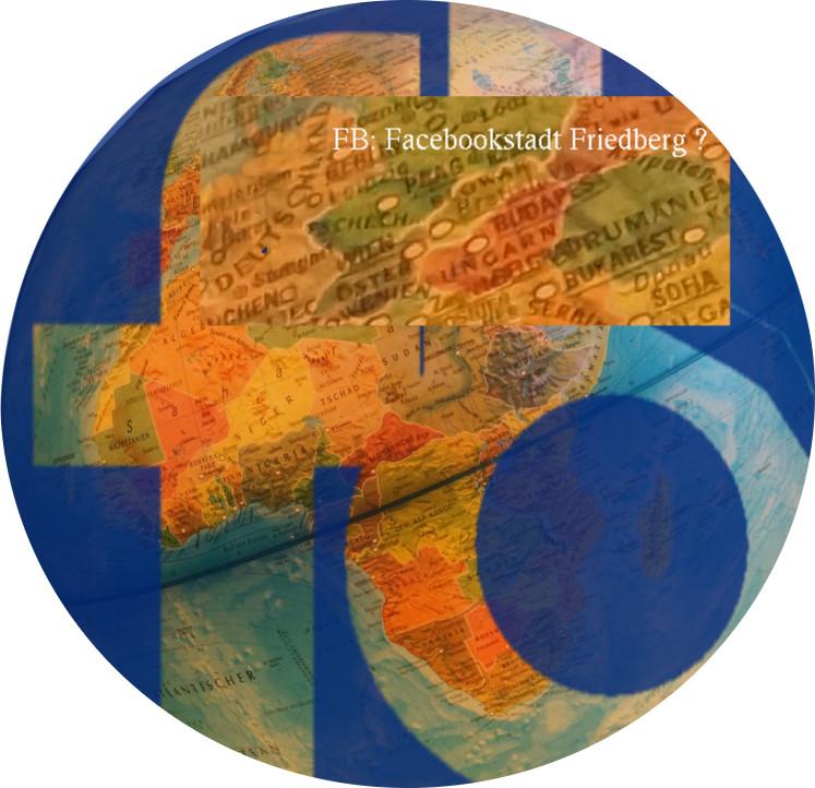 FB ist eigentlich die Kennzeichen-Abkürzung für Friedberg. Im Internet steht der Suchbegriff FB mittlerweile aber für Facebook. Friedberg hat keine Chance mit seinem Kürzel gefunden zu werden. Grafik: v. Gallera