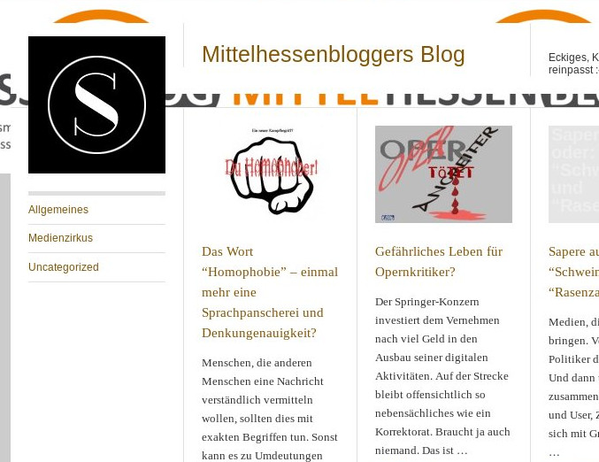 Mittelhessenblogger - Das Blog zum Mittelhessenblog