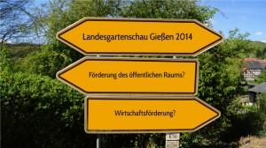 Landesgartenschau 2014 in Gießen: Nur eine privatwirtschaftliche Leistungsschau oder doch mehr?