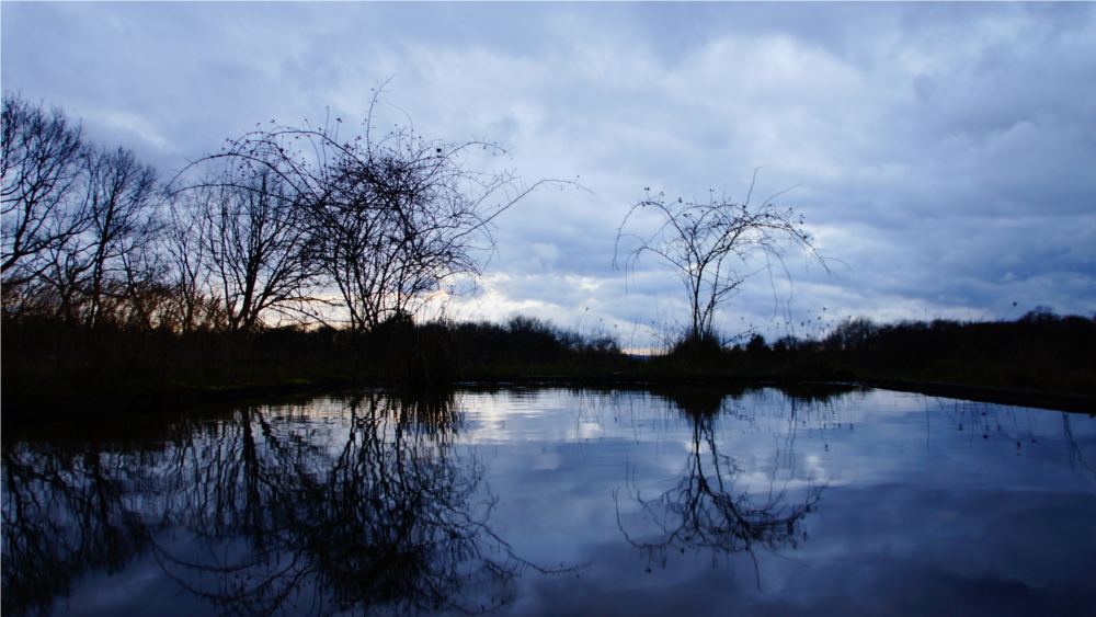 April April: Mittelhessen bekommt auf der Hohe Warte bei Gießen doch keinen neuen See. Foto: v. Gallera