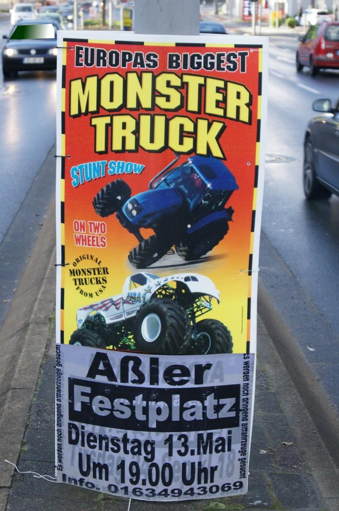 Manchmal reicht ein Buchstabe, damit es eine neue Stadt gibt: Aßler in Mittelhessen. Foto: v. Gallera
