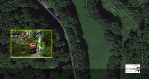 """<span class=""""caps"""">L3053</span>: Baum stürzt aus heiterem Himmel auf Straße im Blasbachtal — niemand verletzt"""