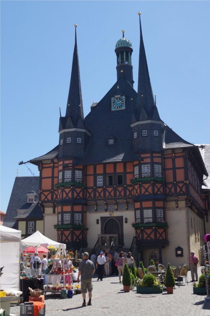 ....während in Wernigerode noch das Leben pulsiert..