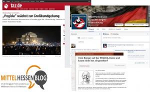 Steht die Pegida in Mittelhessen vor den Toren?