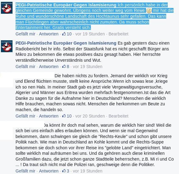 Der Gründer der hessischen FB-Seite wohnte ebenfalls in Weilrod. Montage: Mittelhessenblog.de