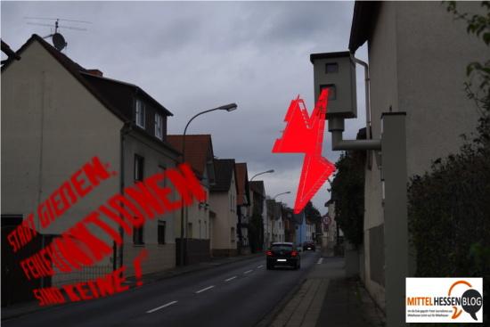 Keine Fehlfunktionen - Anwohner fühlen sich dennoch gestört.  Bild: und Montage: Mittelhessenblog.de