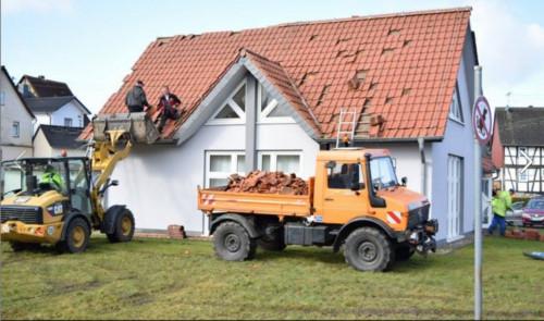 Nach dem Sturm -Otterbach..Foto Klipper, für Mittelhessenblog.de