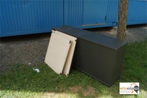 Herderschule Gießen: Während Abiturienten in Kongresshalle feierten, wurden Unterrichtscontainer verwüstet