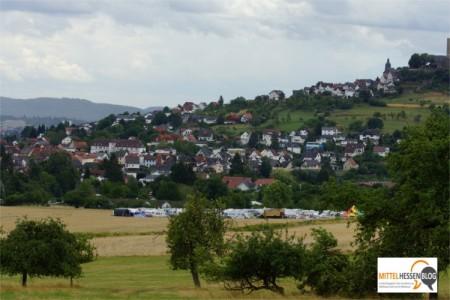 Ungemütliches Wetter brachte Sturmtief Zejlko vor allem auch für die Camper, die zu den 26. Golden Oldies nach Krofdorf-Gleiberg aus allen Teilen Deutschlands kamen. v. Gallera/Mittelhessenblog.de