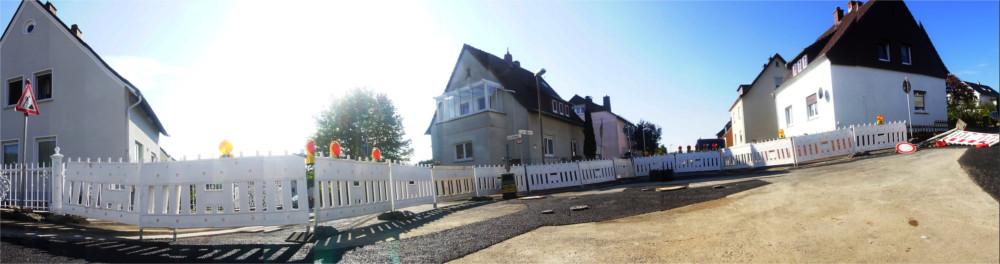 Ende September sollten die Baustellenblockaden in Fellingshausen der Vergangenheit angehören. Fot: v. Gallera