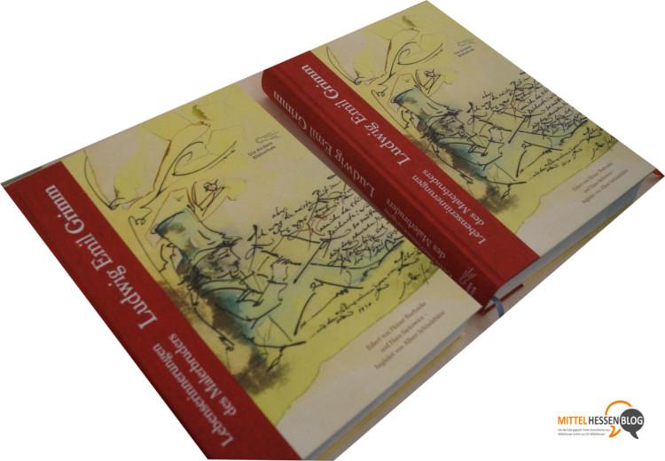 Die Lebenserinnerungen des Grimm-Bruders Ludwig Emil setzen die Reihe der bibliophilen Großformatschätze der Anderen Bibliothek fort. Foto: v. Gallera. Montage: serta.