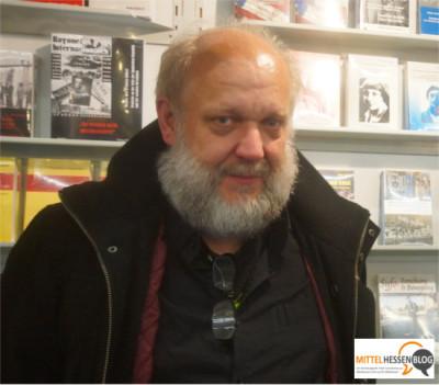 Jürgen Mümken ist einer der Hauptautoren des Licher Verlags Edition AV. Foto: v. Gallera