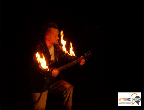 Der Master of Hellfire spielte bei FlicFlac in Gießen mit den abgrundtiefen Emotionen des Publikums. Foto .v. Gallera