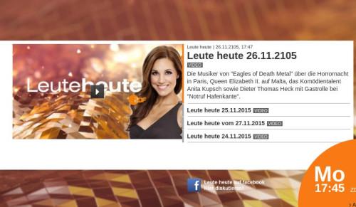 ZDF-Besucher haben die Wahl: Leute heute aus dem Jahr 2105 oder 2015...Quelle: ZDF. Grafik: serta, Mittelhessenblog