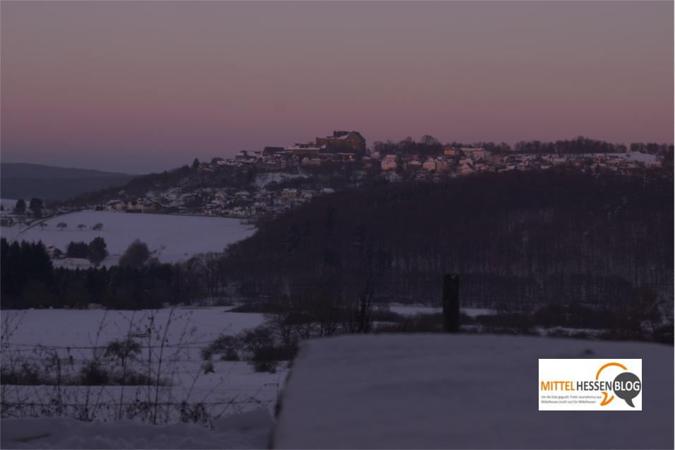 Winterspaziergänge südlich von Hohensolms Ende Dezember 2014. Foto: v. Gallera