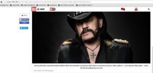 "Lemmy Kilmister, Weltkriegsmahnmale, das <span class=""caps"">VBK47</span> und die ""Nazi-Devotionale"""