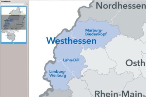 Westhessen auf. Hessen-Mitte (Mittelhessen) ist verschwunden....Gießen war langjähriger Sitz der Straßenneubauverwaltung Hessen-Mitte. Quelle: Hessen Mobil. Bearbeitung: Mittelhessenblog