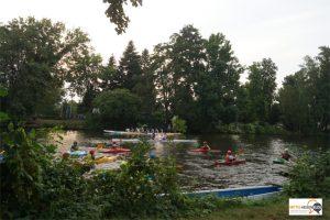 Leben auf dem Fluss: Kanupolo auf derLahn