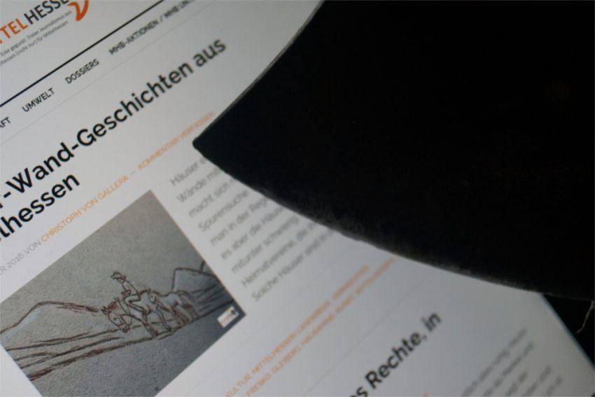 Symbolisch saust eine Axt Richtung Mittelhessenblog: Ein Hackerangriff sorgte im September hinter den Kulisssen des MHB für Wirbel. Foto: Mittelhessenblog