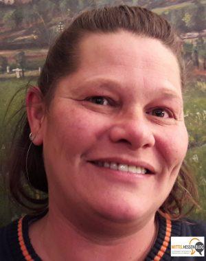 Tanja Kleinhens, Vorsitzende des Obst- und Gartenbauvereins Krofdorf-Gleiberg, geht von einem wachsenden Interesse bei jungen Familien fürs Keltern aus. Foto: v. Gallera