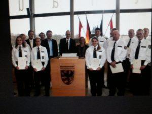 Indienststellung weiterer Freiwilliger Polizeihelfer