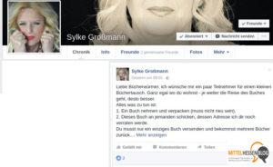 Lindenerin Sylke Großmann möchte Facebook-Büchertausch anstoßen
