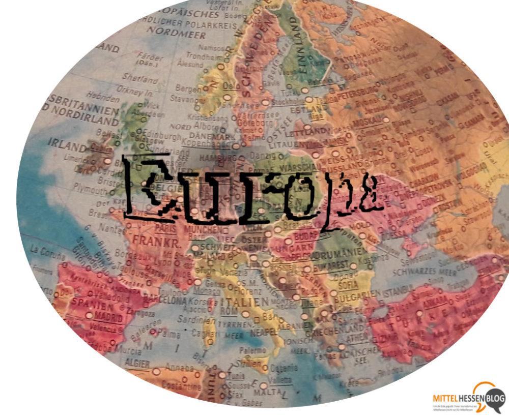 700 Millionen Europäer müssen sich einig werden, wenn sie mit einer Stimme sprechen wollen...Foto: v. Gallera-Montage: Mittelhessenblog.de