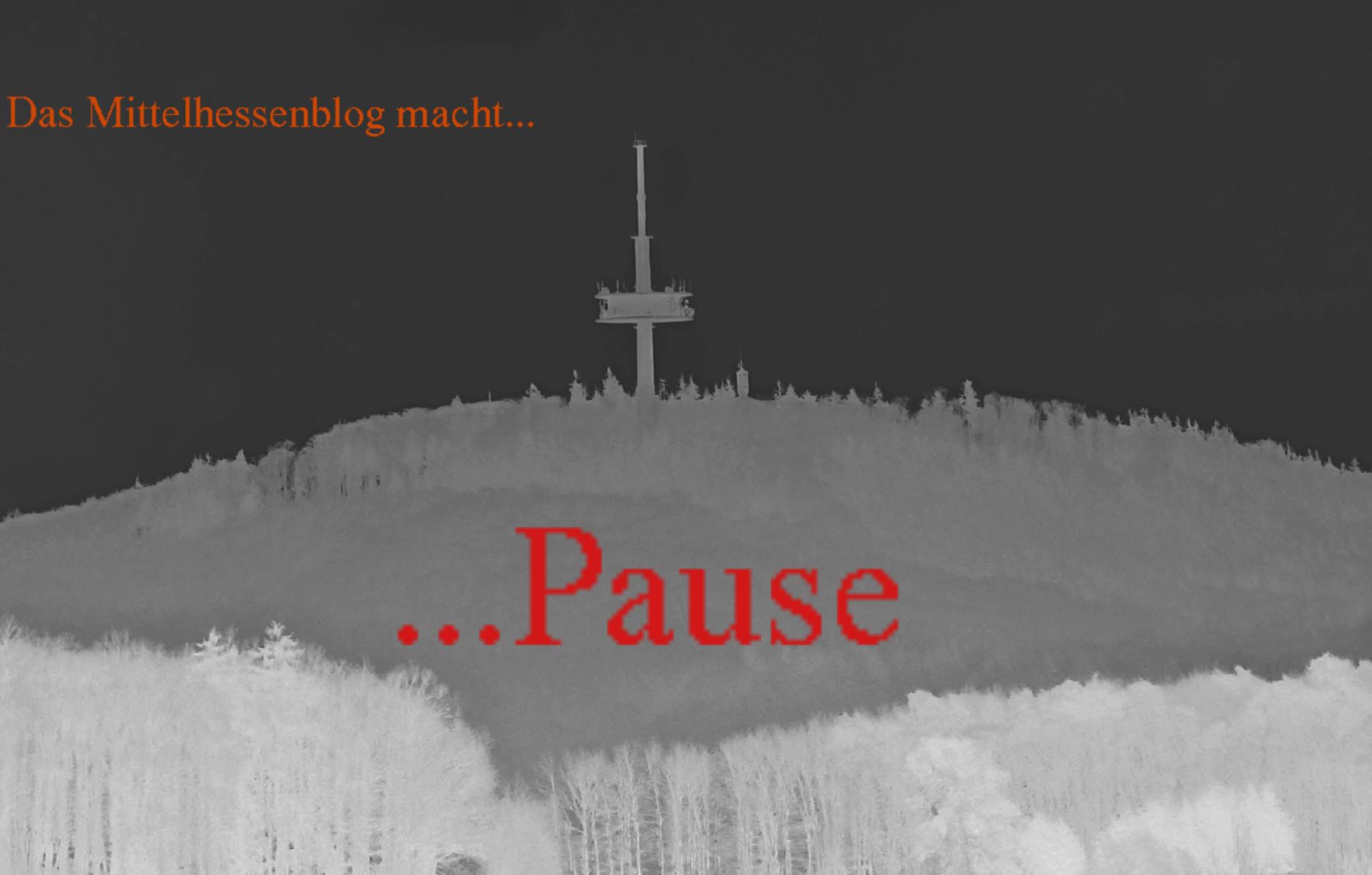 Mittelhessenblog macht sechs Tage Pause vom 3. bis 8. April 2017.