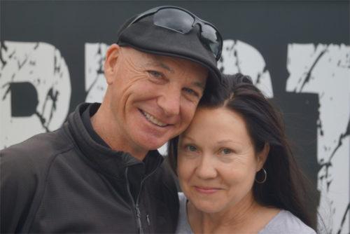 Seit 1996 ein eingespieltes Team: Justin Case und Wendy Vousden. Foto: v. Gallera