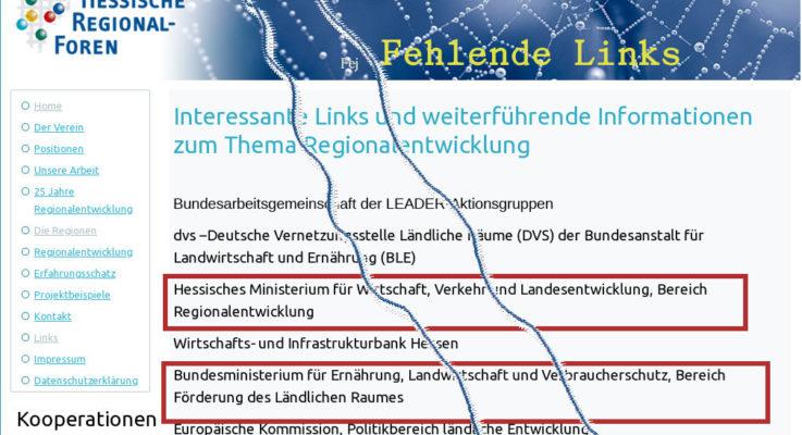 Hessische Regionalforenseite im Dornröschenschlaf